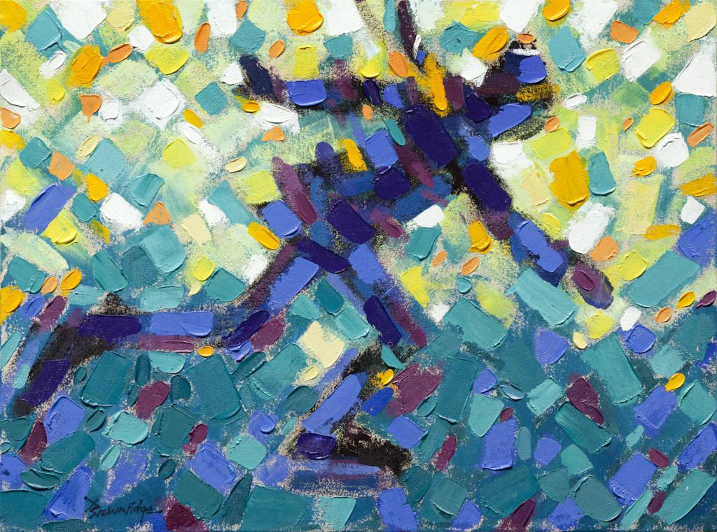 Blue Skater