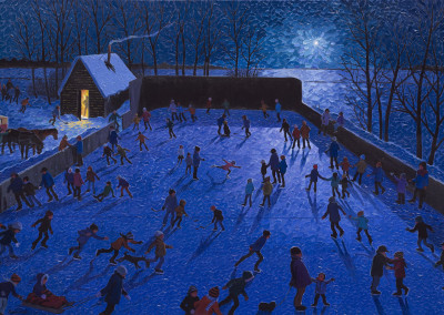 Night Rink by Bill Brownridge