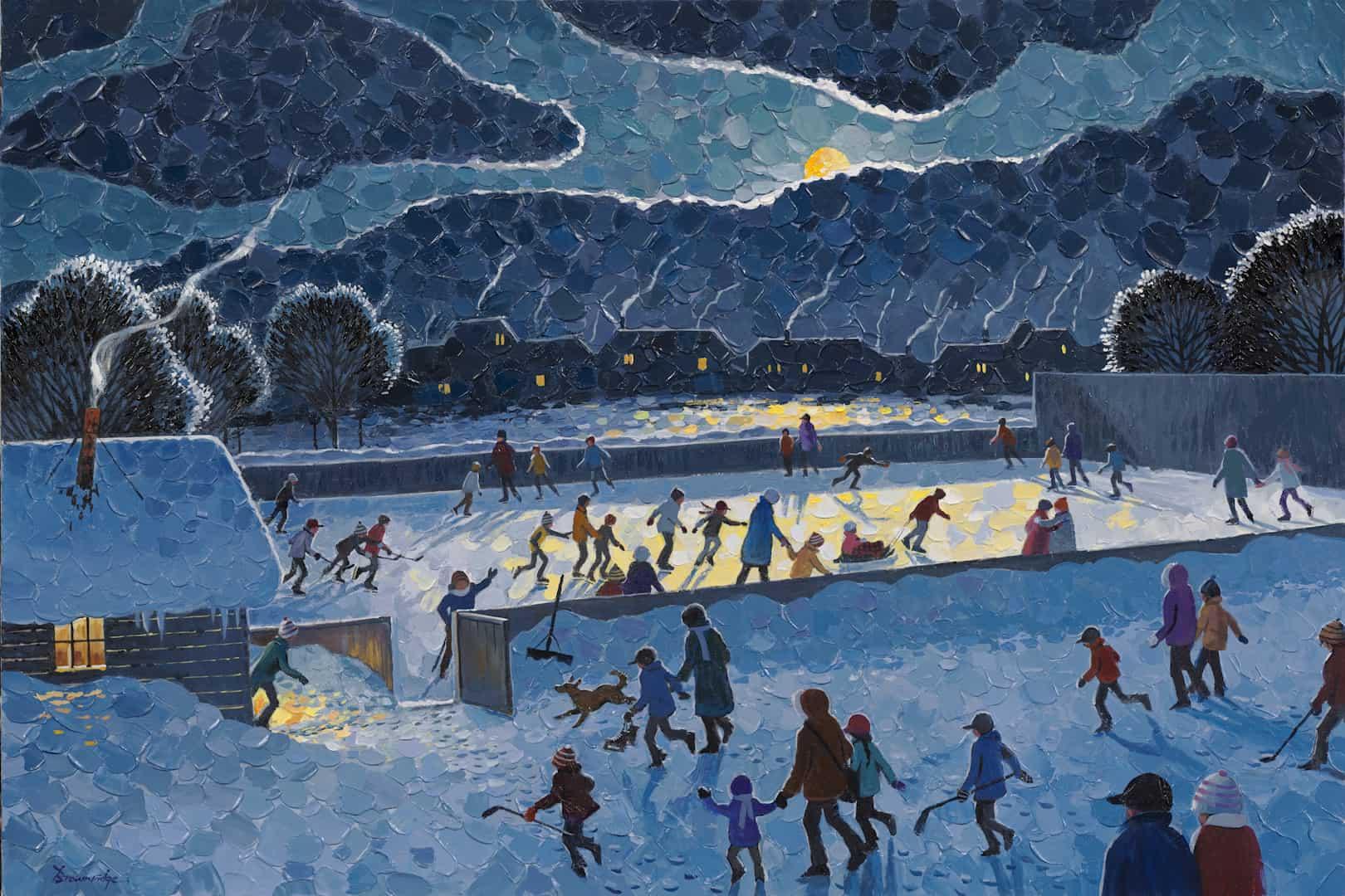 The Joy of Night Skating (2013)