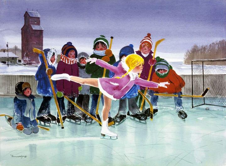 Girl from Saskatoon by Bill Brownridge