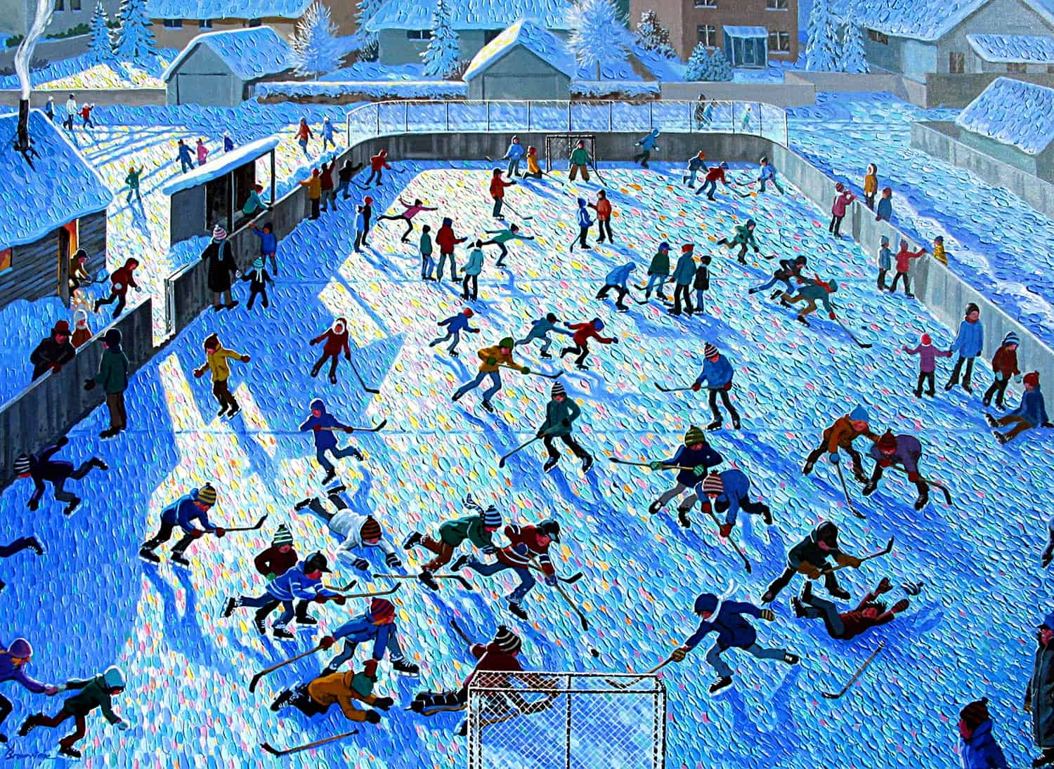 Winter Arena by Bill Brownridge