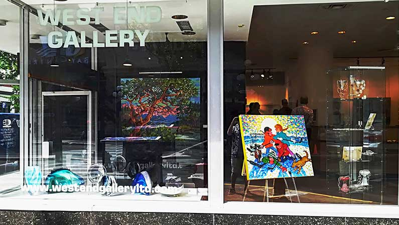 New Venue: Victoria's West End Gallery