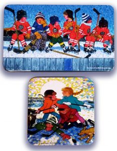 Roger's Chocolates Bill Brownridge Art Tins