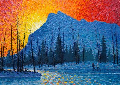 Winter Morning - Vermilion Lakes