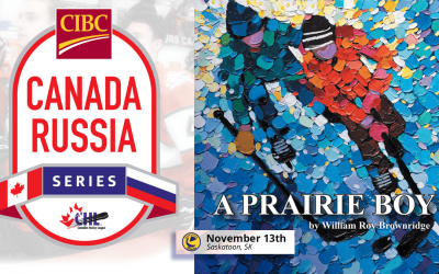 WHL to Support Launch of a Prairie Boy at the 2019 CIBC Canada Russia Series